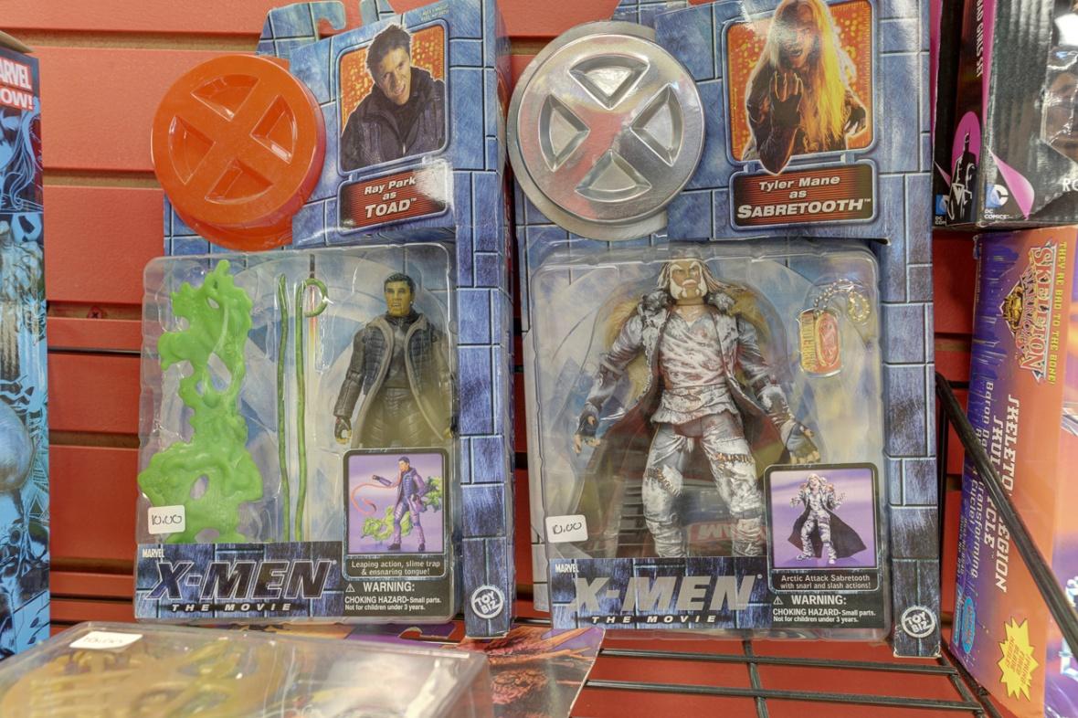 comic book action figures