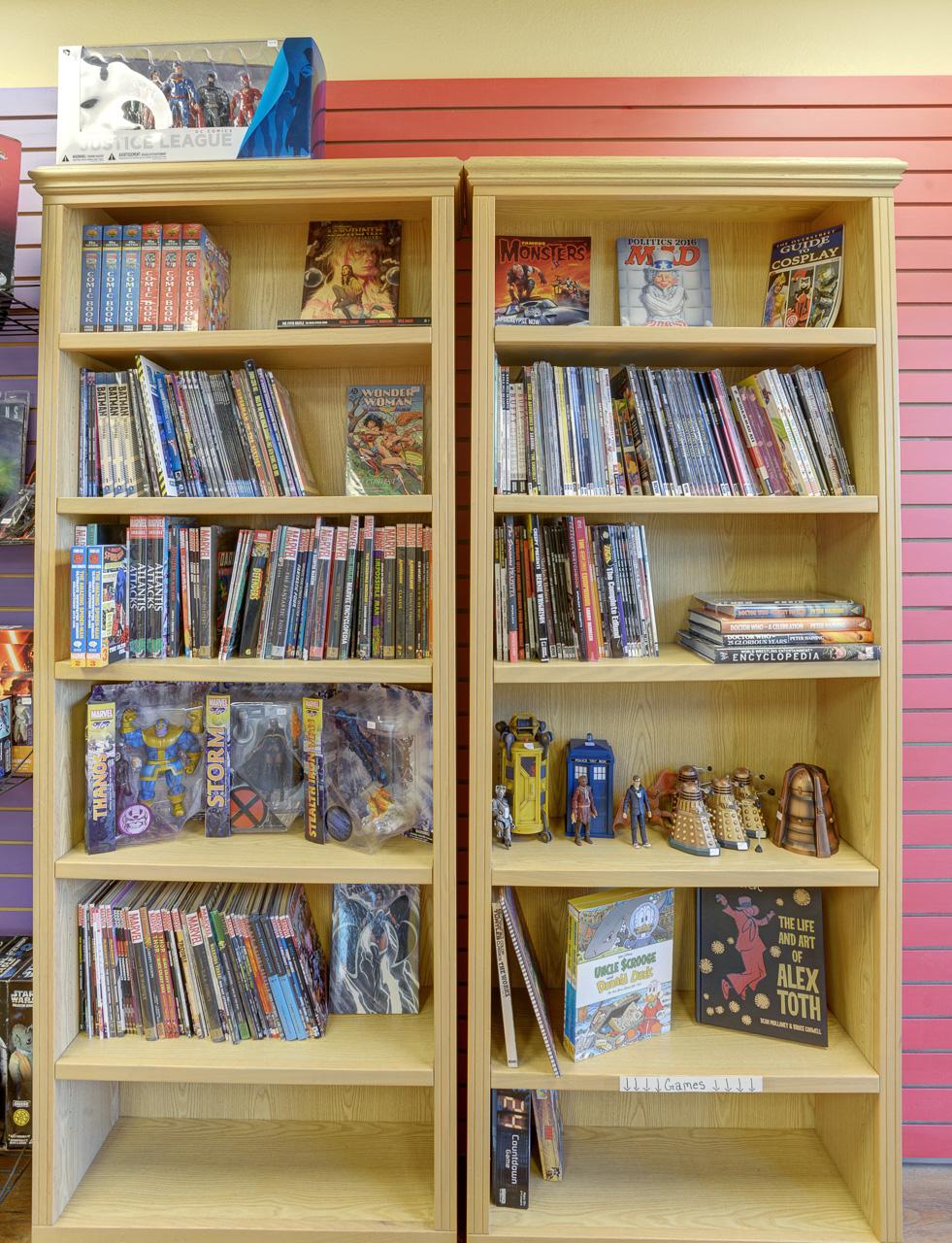 comic book inventory