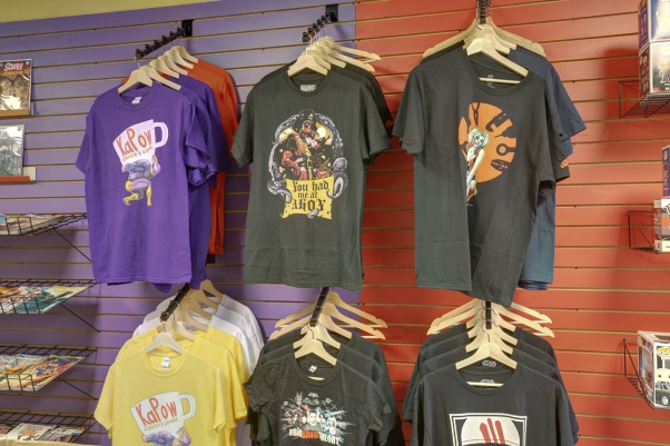 comic tshirts